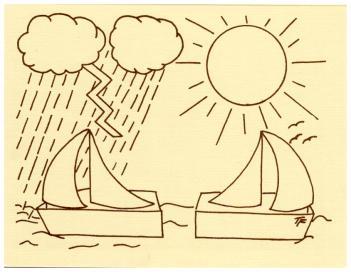 Two Ships Sail