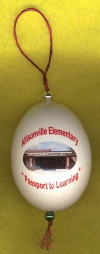 allisonville elementary ornament