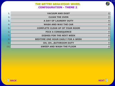 child behavior modification better behavior wheel child behavior chart