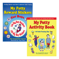 potty training sticker books