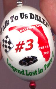 Earnhardt Sr. Ornament