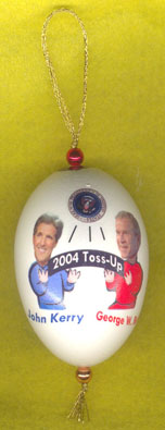 george bush ornament