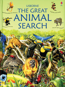 The Great Animal Search nature Book