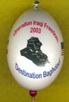 operation Iraqi Freedom 2003 Ornament