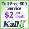 toll free phone service