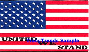 American Flag Magnet - United We Stand