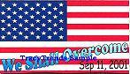 We Shall Overcome - USA Flag Magnet