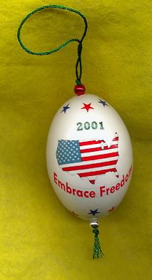 patriotic gift american flag ornament