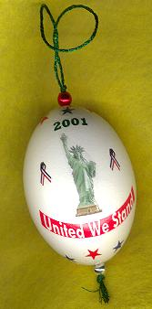 patriotic gift embrace freedom ornament