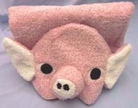 pig towel