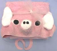 pig bath towel