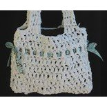 crochet plastic purse