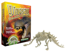 dinosaur stegasaurus excavation kit