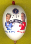 Bush Kerry 2004 Ornament