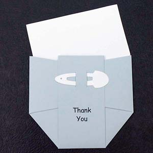 Diaper Thank You Notes