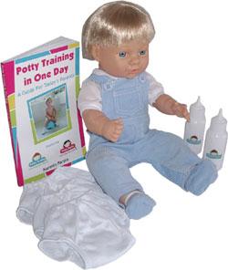 potty training boy dolls