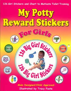 My Potty Reward Stickers for Girls